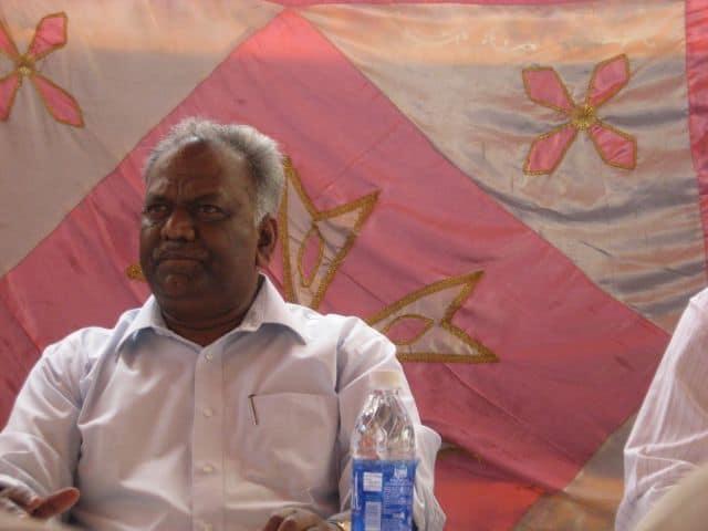H Siddaiah, the BDA commissioner, Bangalore