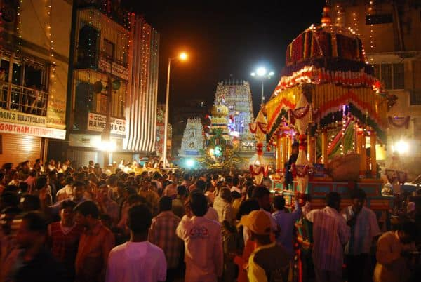 Dharmarayaswamy temple, Bangalore