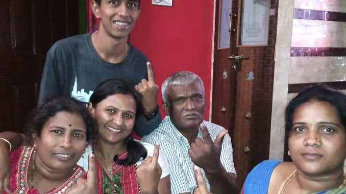 Excitement, pain on voting day | | Citizen Matters, Bengaluru