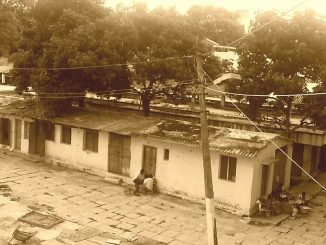 A photo of old Malleswaram market taken on September 5, 2013. Pic: Shree D N
