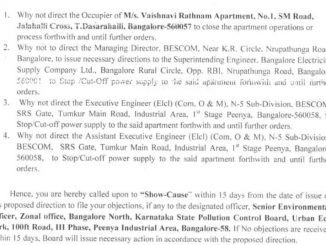 Additional Security Deposit for BESCOM: Some questions